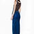 Lace Straight Sleeveless Maxi Dress : KissChic.com
