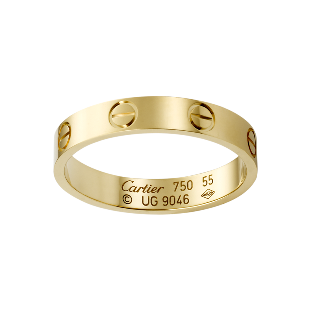 LOVE wedding band - Yellow gold - Fine Wedding Bands for ...