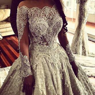 dress white dress wedding dress wedding wedding clothes lace beautiful nude nude dress lace