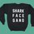 Vintage 70's Shark Face Gang Crewneck Sweatshirt   Macklemore & Ryan Lewis Merchandise