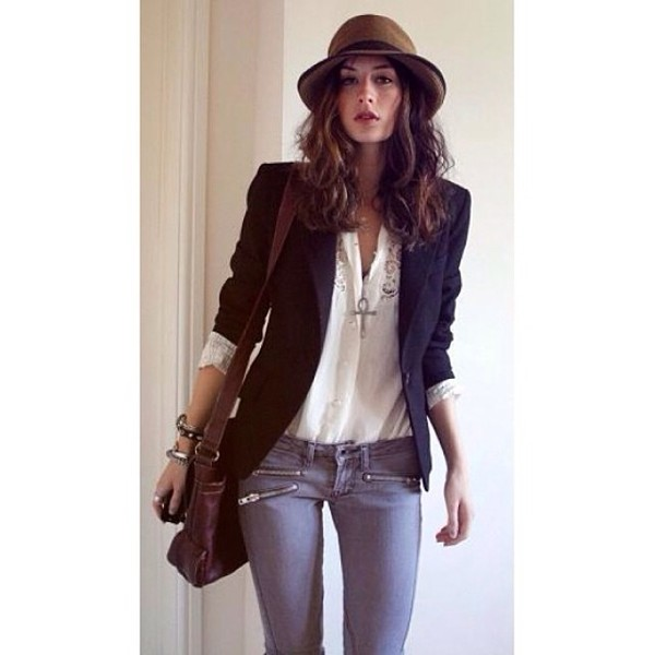 jacket coat blazer ootd look of the day style blogger fashion blogger fashion style fashionista stylish hat nike