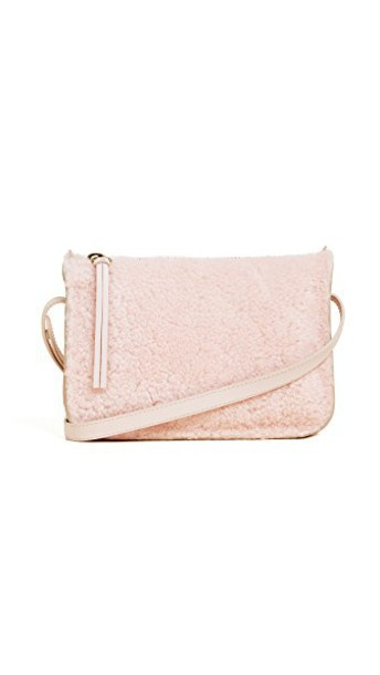 Madewell cross bag pouch violet