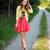 Topshop Espadrille, Topshop Corset, Zara Cardigan, River Island Skirt, H&M Belt - Flower garden - Karina P. | LOOKBOOK