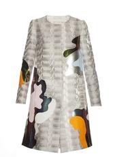 coat,fashion,clothes,farfetch,jacquard coat