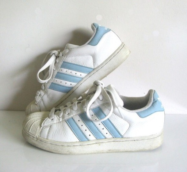 adidas superstar bright blue