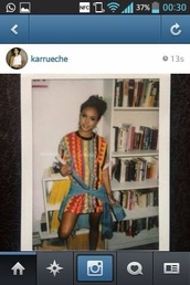 longshirt,karrueche,t-shirt dress,mini dress