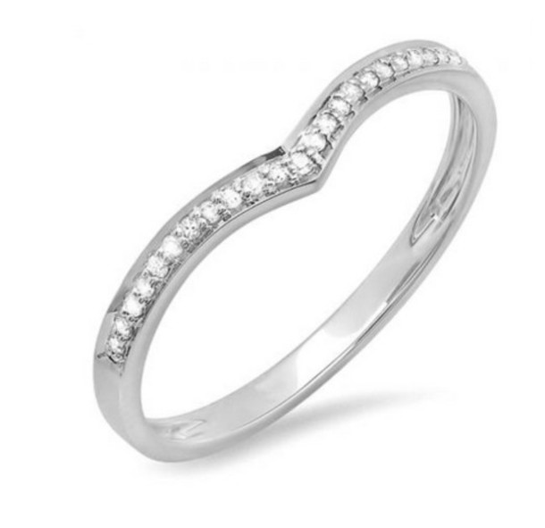 Image result for chevron pave ring