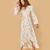 The Bergen Dress | Cream Floral