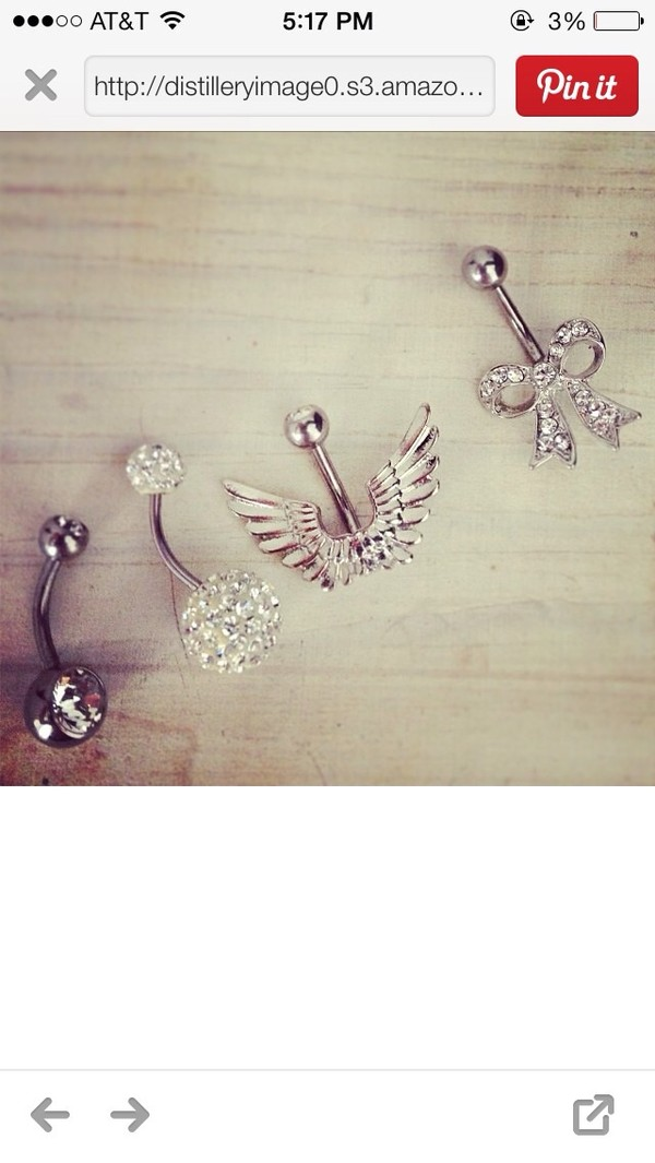 belt belly ring