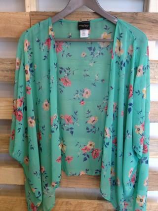 Floral Kimono Top - American Threads ($39.00) - Svpply