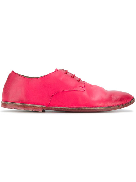 Marsèll women classic leather purple pink shoes