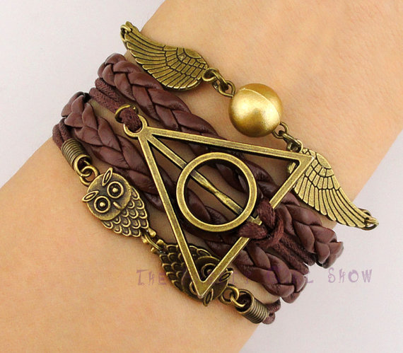 harry potter bettelarmband infinity armband von