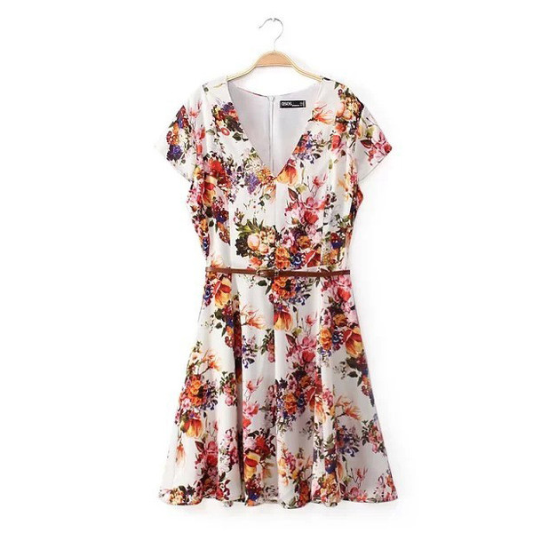floral dress mini dress cute dress pattern
