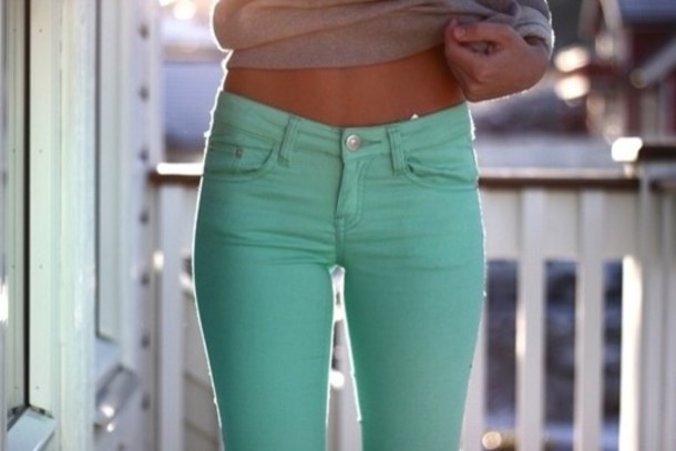 jeans pants colorful jeans turquoise spring light blue perfect combination perfection girly model bleu turquoise