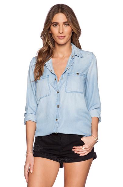 shirt boyfriend blue