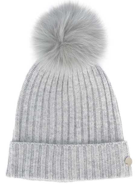 bobble hat hat grey