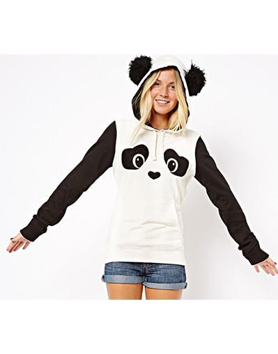 Funny animal ears sweater hoodie fashion chic