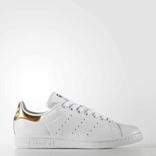 separation shoes 8c60d 76abb $80 Adidas Women Stan Smith white footwear white gold BB5155