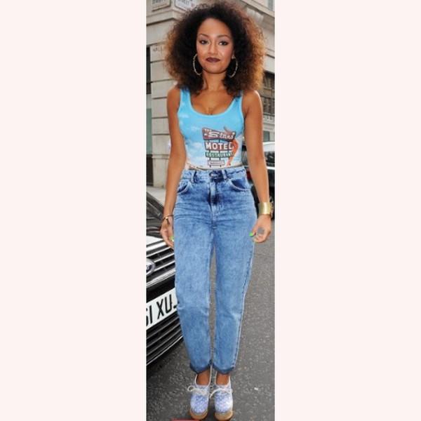 jeans high waisted jeans 90s style dark blue boyfriend jeans acid wash