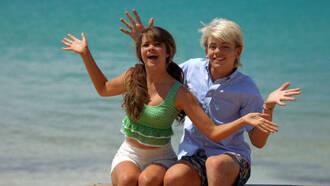 tank top green crop top peplum maia mitchell teen beach movie crop tops clothes summer