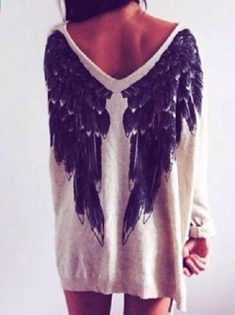 sweater grunge sweater edgy