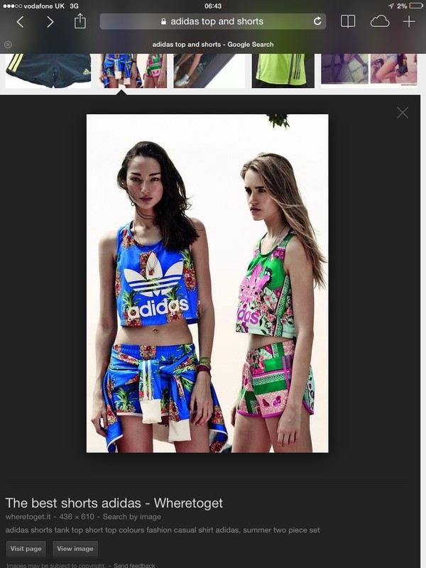 shorts adidas clothes crop tops