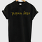 Stay weird gold unisex tshirt - stylecotton