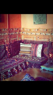 home accessory,hippie,boho,pillow,tribal pattern,sofa