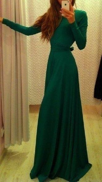 dress green prom