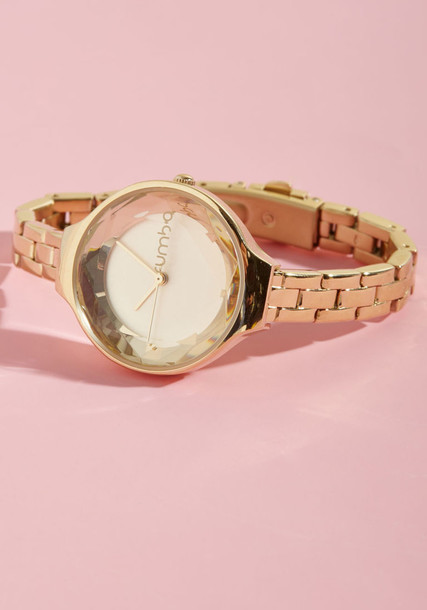 Modcloth watch gold jewels