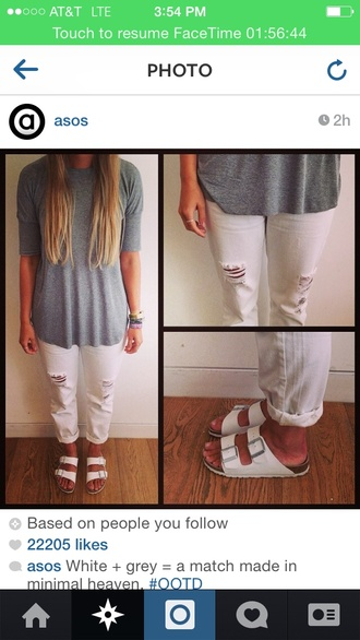 white style sandals flip-flops belt strappy sandals instagram tumblr outfit tumblr sunflower hipster hippie ripped jeans ripped shorts roll-up grey grey sweater white dress white crop tops shoes jeans