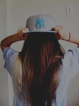 hat new york yankees gray snapback
