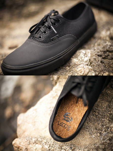 shoes vans cute vans black vans skater skate shoes cute shoes vans cork  soles f7e0500b8af3