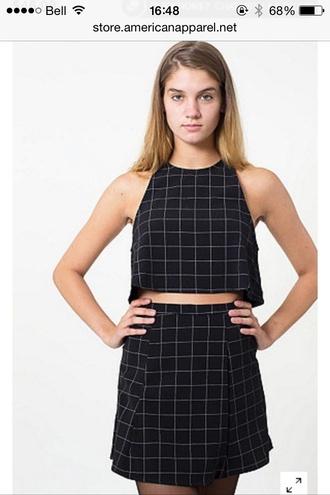 skirt american apparel