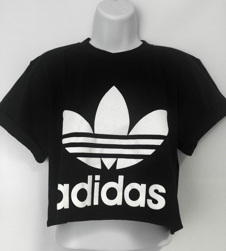 adidas crop shirt damen