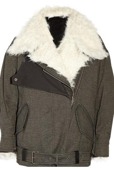 isabel marant isabel marant coat biker jacket