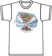 Green Day - Dookie Vintage (White) @ Interpunk.com - The Ultimate Punk Music Store