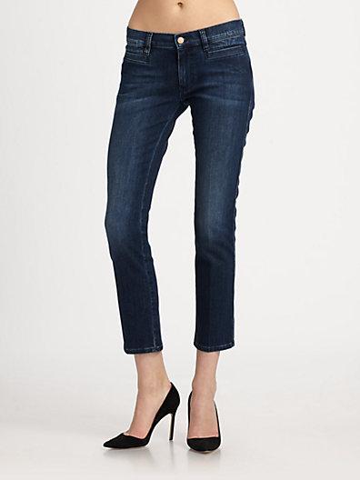 MiH Jeans - Paris Mid-Rise Cropped Jeans - Saks.com