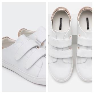 shoes zara white