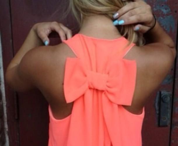 Orange Pink Shirt