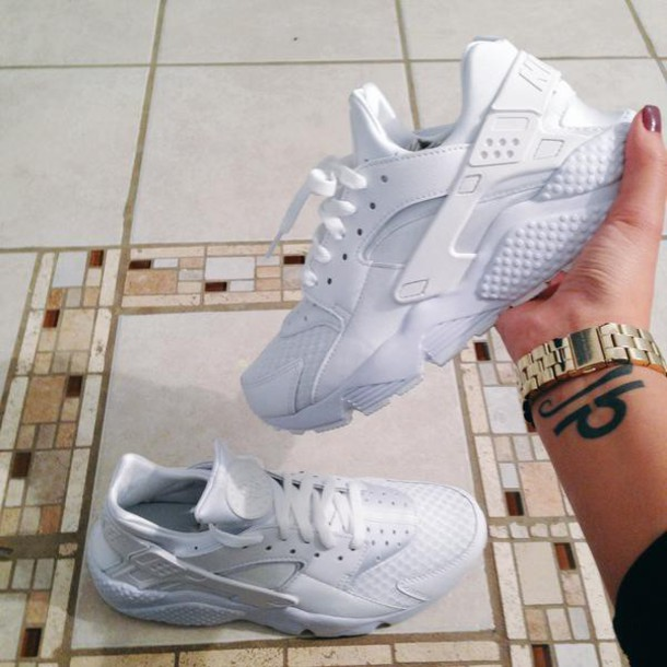 shoes nike kicks beautiful white shoes love dope huarache