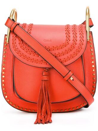 women bag shoulder bag leather suede yellow orange