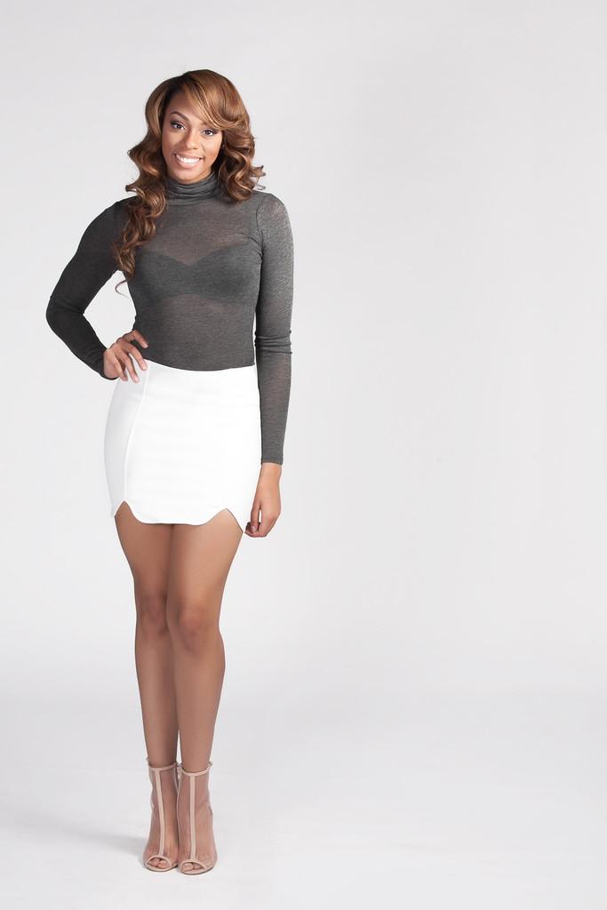 Petal pusher skirt – model citizen