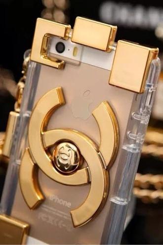 jewels chanel phone case ipadiphonecase.com gold iphone case iphone 5 case white glitter phone cover
