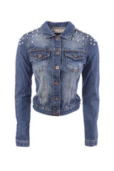 Sirenlondon — spiked denim jacket