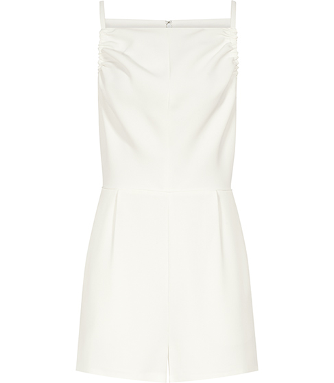 Dee Cream Sleeveless Playsuit - REISS