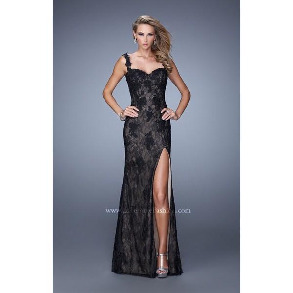 dress open back black dress customized