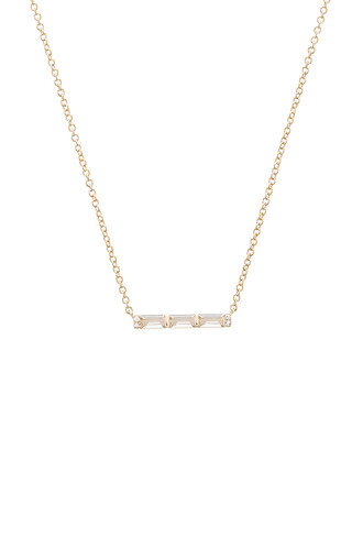 mini necklace white metallic gold jewels