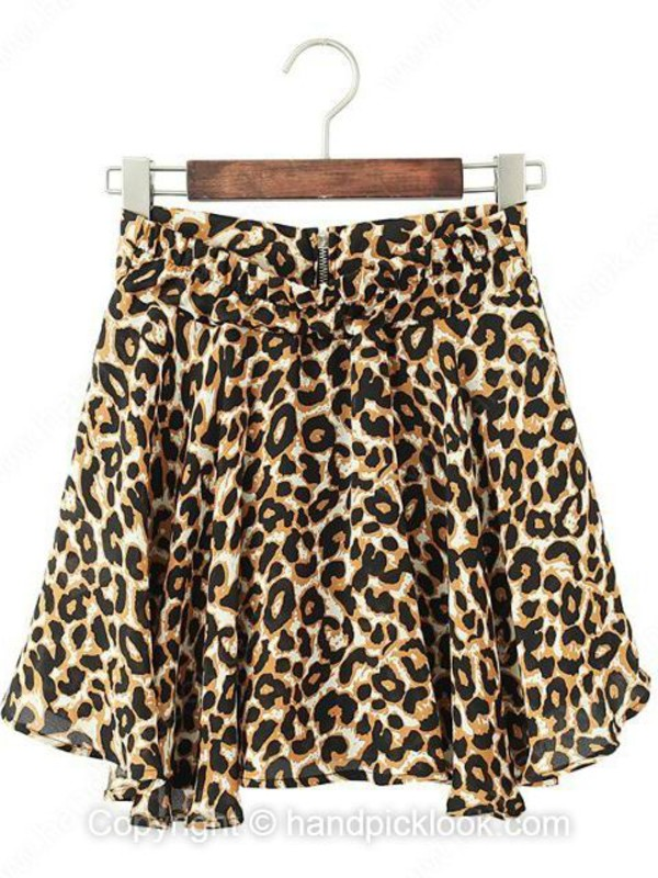 skirt leopard skirt print dress bottoms leopard print animal print