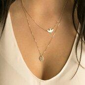 jewels,birds,necklace,bird necklace